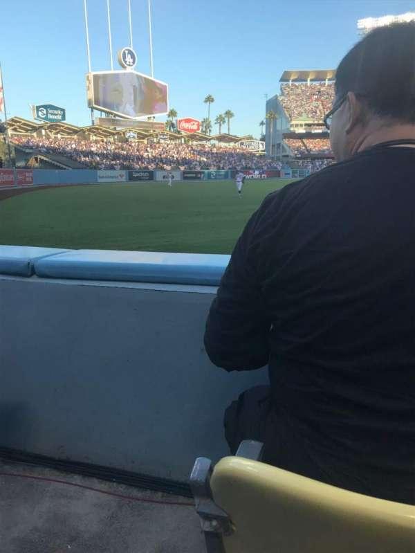 Dodger Stadium, Abschnitt: 49FD, Reihe: A, Platz: 14