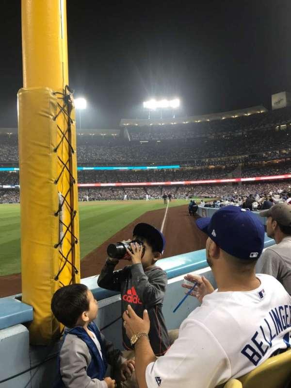 Dodger Stadium, Abschnitt: 49FD, Reihe: A, Platz: 12