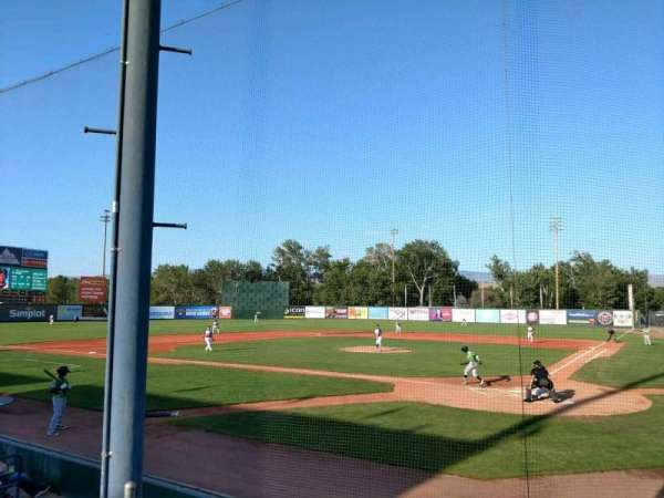 Memorial Stadium (Boise), Abschnitt: HP, Reihe: D, Platz: 1