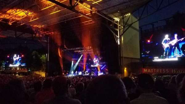 Jiffy Lube Live, Abschnitt: 201, Reihe: K, Platz: 40