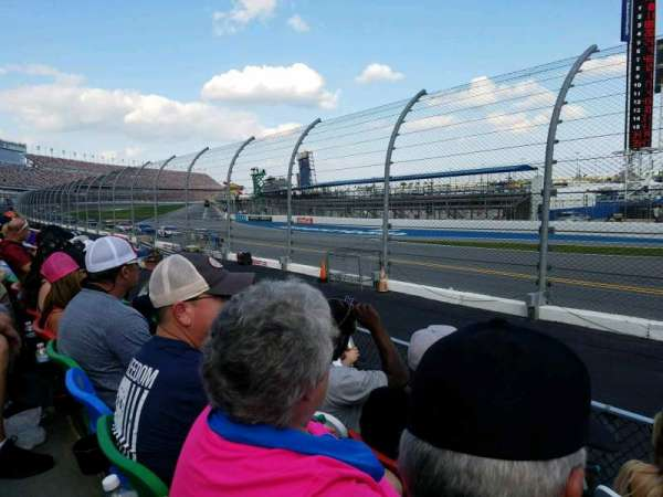 Daytona International Speedway, Abschnitt: 173, Reihe: 4, Platz: 1