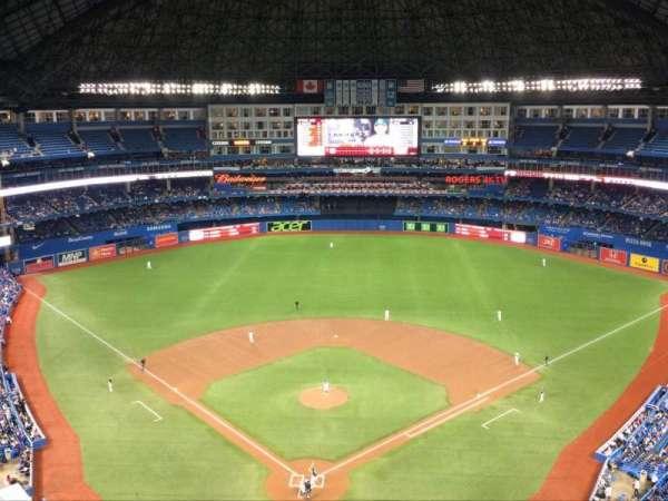 Rogers Centre, Abschnitt: 524, Reihe: 21, Platz: 1