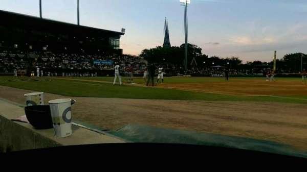 Baseball Grounds of Jacksonville, Abschnitt: 115, Reihe: 1, Platz: 8