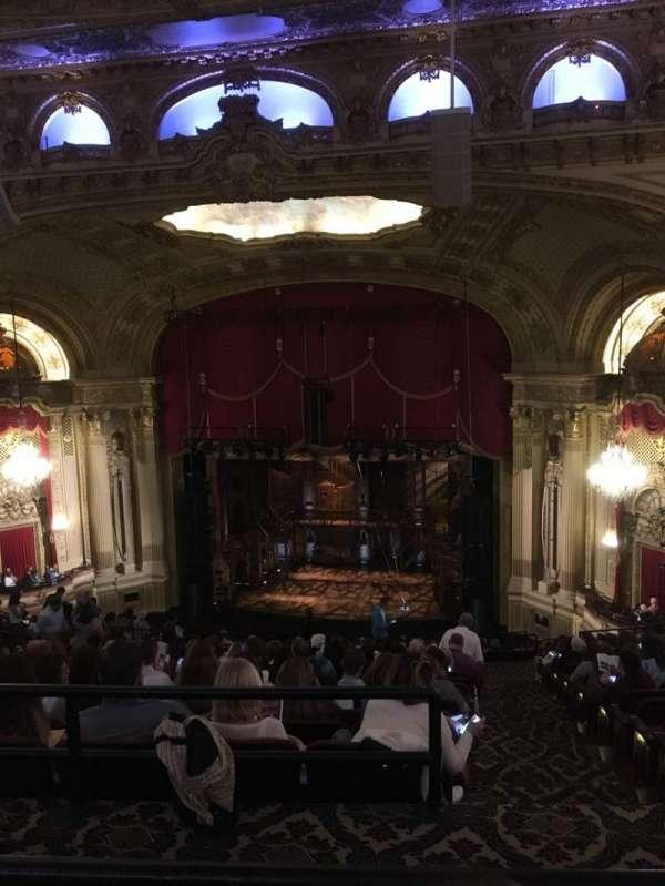 Boston Opera House, Abschnitt: Ctr Balcony, Reihe: Q, Platz: 14