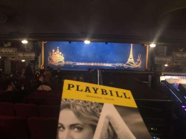 Broadhurst Theatre, Abschnitt: Orchestra, Reihe: Standing Room, Platz: 108