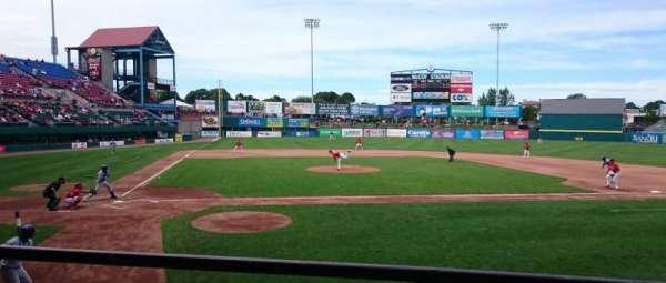 McCoy Stadium, Abschnitt: 4, Reihe: B, Platz: 12