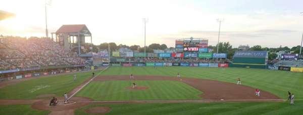 McCoy Stadium, Abschnitt: 3, Reihe: DD, Platz: 19