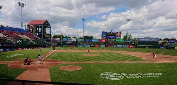 McCoy Stadium, Abschnitt: 4, Reihe: C, Platz: 11