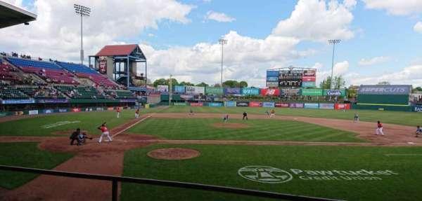 McCoy Stadium, Abschnitt: 4, Reihe: C, Platz: 8