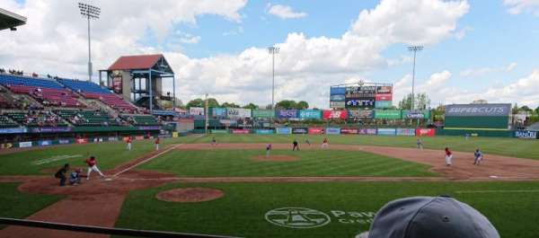 McCoy Stadium, Abschnitt: 4, Reihe: C, Platz: 5