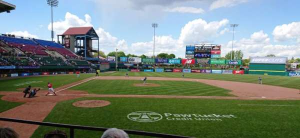 McCoy Stadium, Abschnitt: 4, Reihe: C, Platz: 1