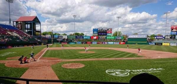 McCoy Stadium, Abschnitt: 4, Reihe: C, Platz: 15