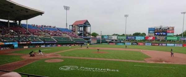 McCoy Stadium, Abschnitt: 3, Reihe: D, Platz: 1