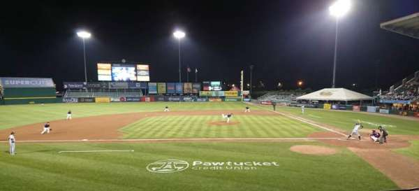 McCoy Stadium, Abschnitt: 10, Reihe: F, Platz: 8