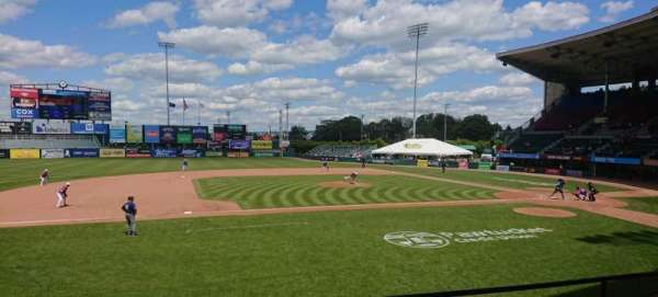 McCoy Stadium, Abschnitt: 11, Reihe: D, Platz: 16