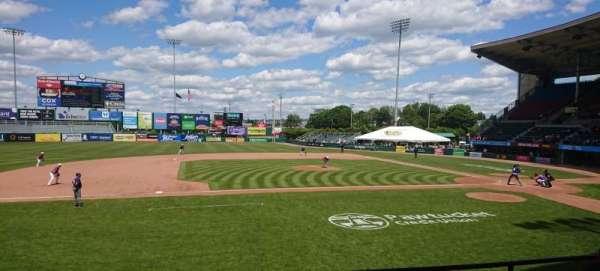 McCoy Stadium, Abschnitt: 11, Reihe: D, Platz: 11