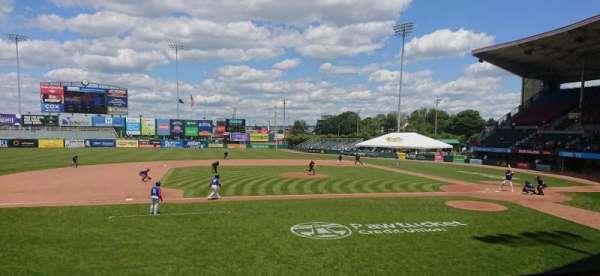 McCoy Stadium, Abschnitt: 11, Reihe: D, Platz: 6