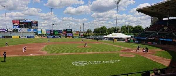 McCoy Stadium, Abschnitt: 11, Reihe: F, Platz: 1
