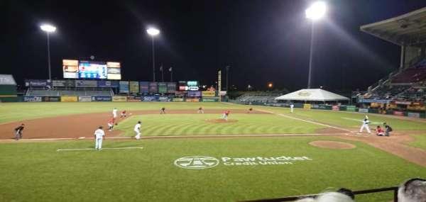 McCoy Stadium, Abschnitt: 10, Reihe: D, Platz: 16