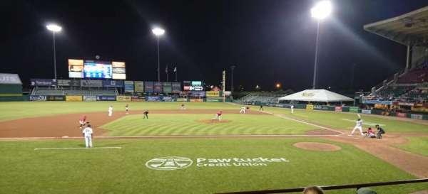 McCoy Stadium, Abschnitt: 10, Reihe: D, Platz: 11
