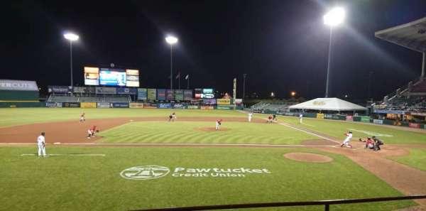 McCoy Stadium, Abschnitt: 10, Reihe: D, Platz: 6