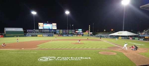 McCoy Stadium, Abschnitt: 10, Reihe: D, Platz: 1