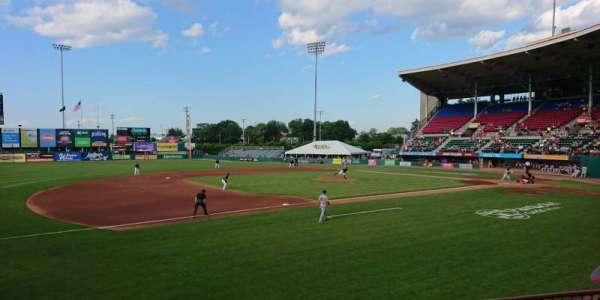 McCoy Stadium, Abschnitt: 13, Reihe: D, Platz: 11