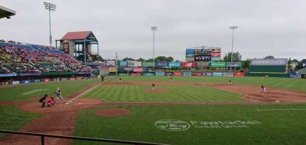 McCoy Stadium, Abschnitt: 4, Reihe: D, Platz: 6