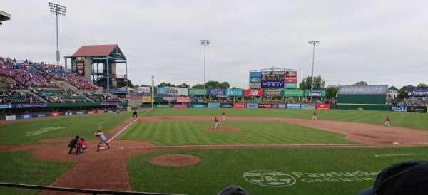 McCoy Stadium, Abschnitt: 4, Reihe: D, Platz: 11