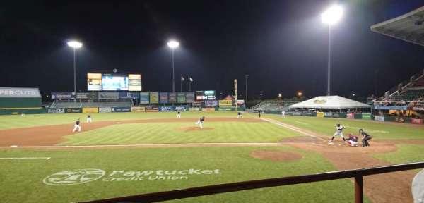 McCoy Stadium, Abschnitt: 9, Reihe: B, Platz: 15