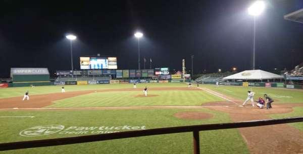 McCoy Stadium, Abschnitt: 9, Reihe: B, Platz: 10