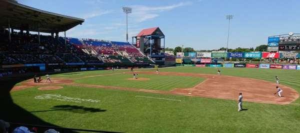 McCoy Stadium, Abschnitt: 1, Reihe: F, Platz: 7