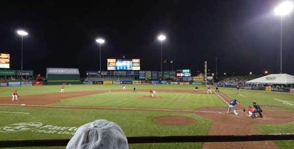 McCoy Stadium, Abschnitt: 9, Reihe: B, Platz: 1