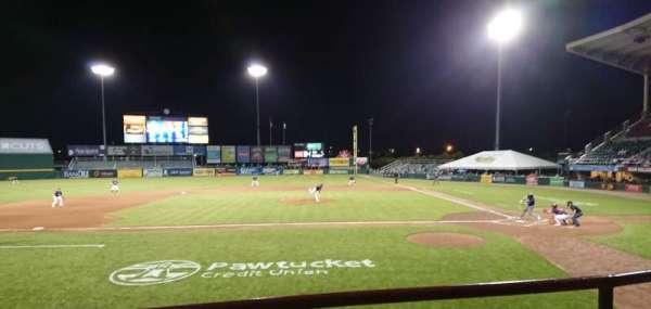 McCoy Stadium, Abschnitt: 10, Reihe: B, Platz: 1