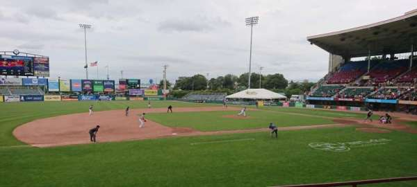 McCoy Stadium, Abschnitt: 12, Reihe: D, Platz: 14