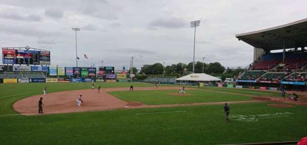 McCoy Stadium, Abschnitt: 12, Reihe: D, Platz: 10