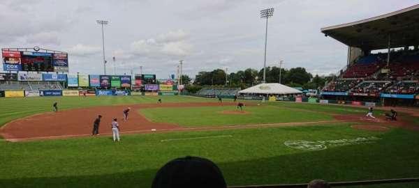 McCoy Stadium, Abschnitt: 12, Reihe: D, Platz: 5