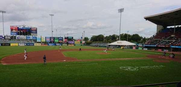 McCoy Stadium, Abschnitt: 12, Reihe: D, Platz: 1