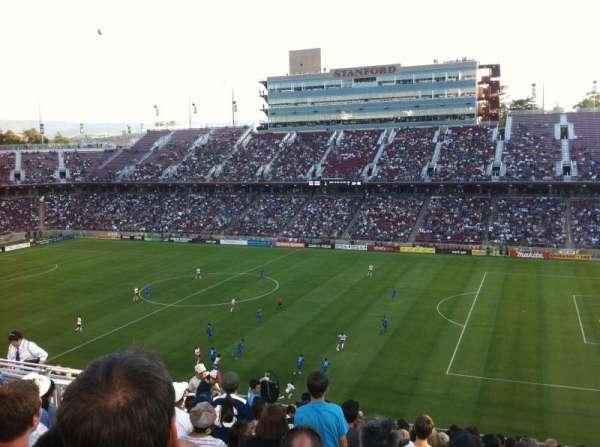 Stanford Stadium, Abschnitt: 230, Reihe: 12