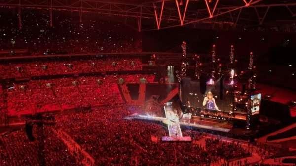 Wembley Stadium, Abschnitt: 502, Reihe: 31, Platz: 50