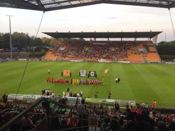 Stade Francis Le Basser, Abschnitt: Loge, Reihe: 4