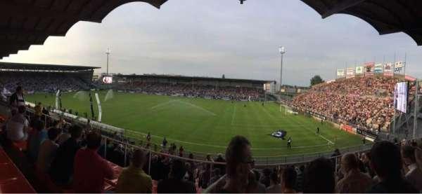 Stade Raymond Kopa, Abschnitt: Jean Bouin Laterale, Reihe: S, Platz: 2