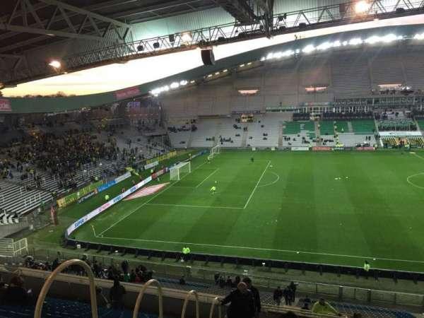 Stade de la Beaujoire, Bereich: Oceane Haut, Reihe: Q, Platz: 168