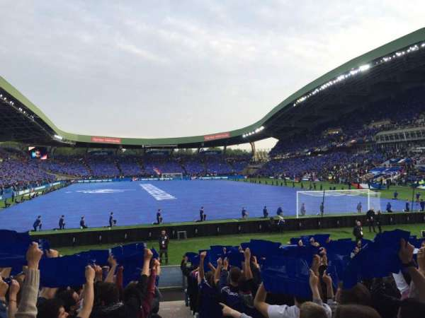 Stade de la Beaujoire, Bereich: Erdre, Reihe: E2F-T, Platz: 225