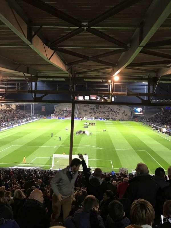 Stade Raymond Kopa, Abschnitt: Coubertin C, Reihe: AL, Platz: 132