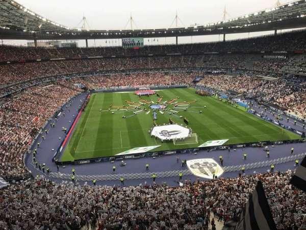 Stade de France, Abschnitt: Nord Haute, Reihe: L15, Platz: 67-1