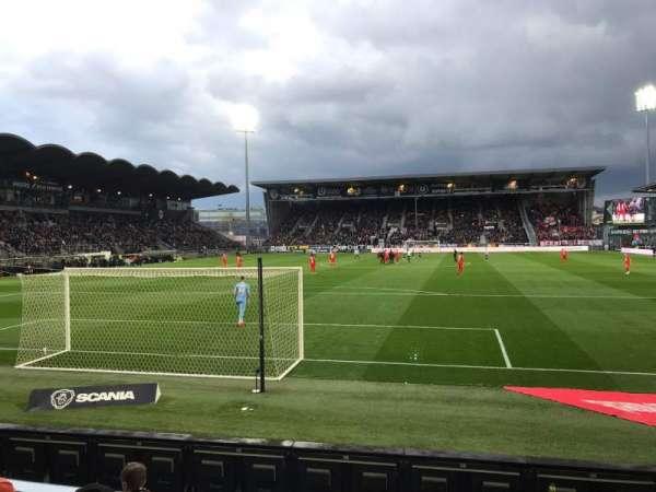 Stade Raymond Kopa, Abschnitt: Colombier, Reihe: D, Platz: 30
