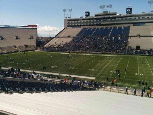 LaVell Edwards Stadium, Abschnitt: 132, Reihe: 1, Platz: 28