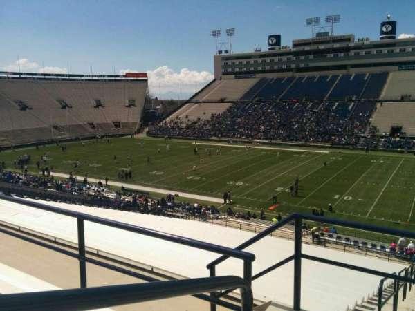 LaVell Edwards Stadium, Abschnitt: 131, Reihe: 4, Platz: 14