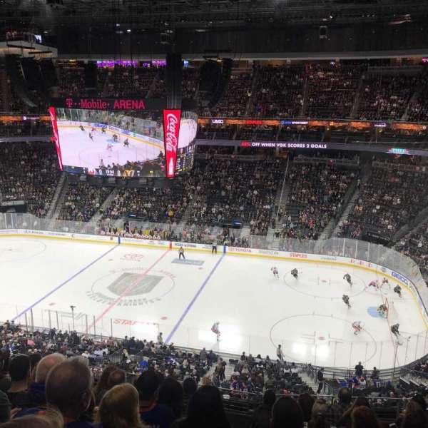 T-Mobile Arena, Abschnitt: 225, Reihe: H, Platz: 10